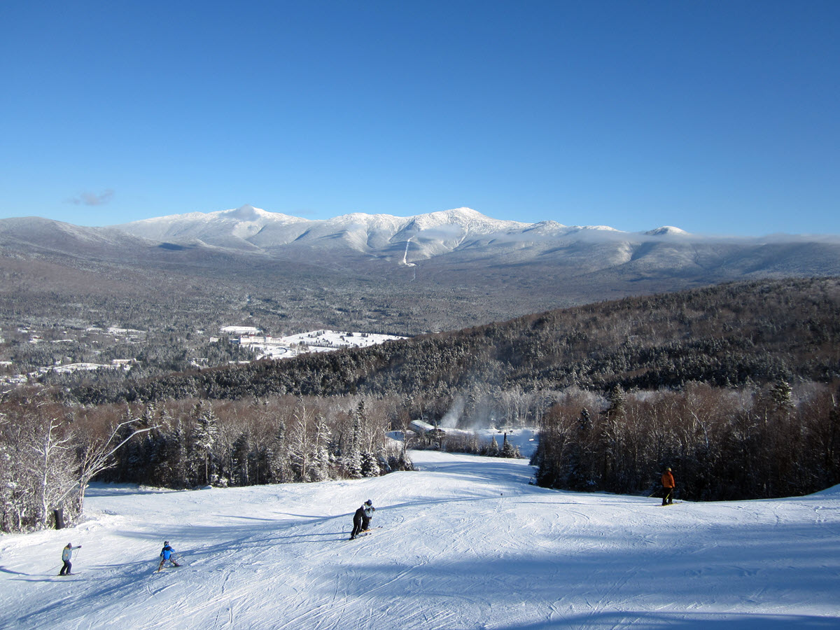 Bretton Woods Skiing - White Mountains - New hampshire